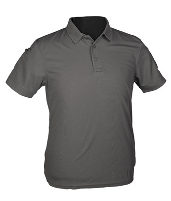 YDS MIL-TEC POLO QUICK DRY T-SHIRT -GRİ
